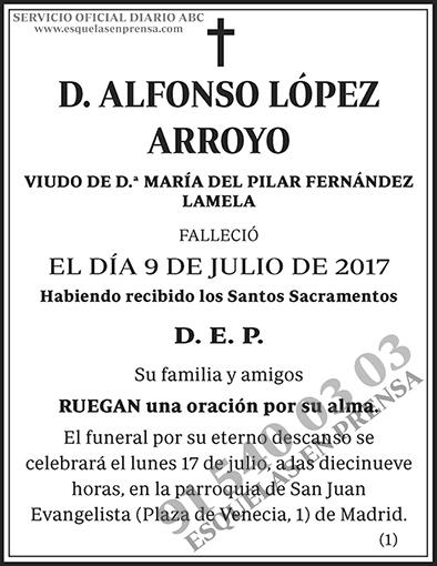 Alfonso López Arroyo